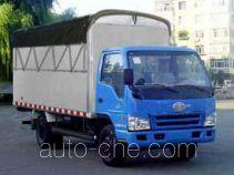 FAW Jiefang CA5072XXBPK6L2-3A soft top box van truck