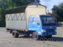 FAW Jiefang CA5072XXBPK6L2R5-3A soft top box van truck