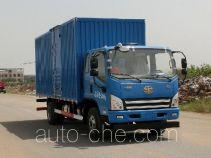 FAW Jiefang CA5081XXYP40K2L1E5A84-3 box van truck