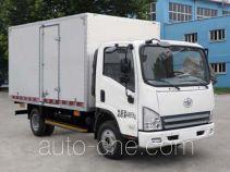 解放牌CA5081XXYP40K2L2E4A84-3型厢式运输车