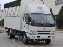 FAW Jiefang CA5082XXBPK26L2R5-3A soft top box van truck