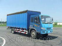 FAW Jiefang CA5163CPYP10K1L4E4 soft top box van truck