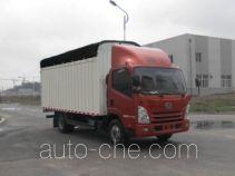 FAW Jiefang CA5083CPYPK45L3E1 soft top box van truck