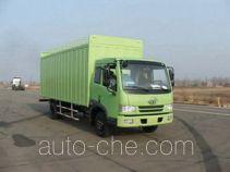 FAW Jiefang CA5083XXYP9K2L2A soft top box van truck