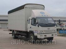 FAW Jiefang CA5090CPYK34L5R5E4 soft top box van truck