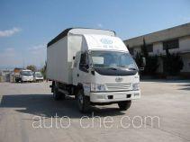 FAW Jiefang CA5090CPYK35L4R5E4-1 soft top box van truck