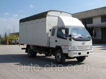 FAW Jiefang CA5090XXBK6L4R5E3 soft top box van truck