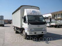 FAW Jiefang CA5100XXBK6L4R5E3 soft top box van truck