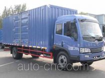 解放牌CA5110XXYPK2L2E4A80-3型厢式运输车