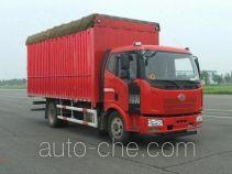 FAW Jiefang CA5120CPYP62K1L3E4 soft top box van truck
