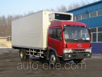 FAW Jiefang CA5088XLCA refrigerated truck