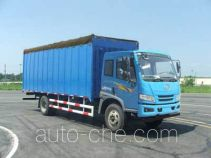 FAW Jiefang CA5123CPYP10K1L6E4 soft top box van truck