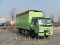 FAW Jiefang CA5123XXYP9K2L4BE soft top box van truck