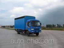 FAW Jiefang CA5130XXBK34L6R5E3 soft top box van truck