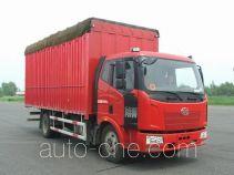 FAW Jiefang CA5140CPYP62K1L3A1E4 soft top box van truck
