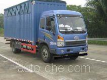 FAW Jiefang CA5148CPYPK15L2NE5A80-2 soft top box van truck