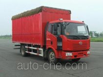 FAW Jiefang CA5160CPYP62K1L3A1E4 soft top box van truck