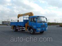 FAW Jiefang CA5160JSQA70E3 truck mounted loader crane