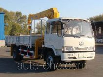 Huakai CA5160JSQK truck mounted loader crane