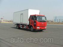 FAW Jiefang CA5160XBWP62K1L3E4 insulated box van truck