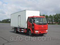 FAW Jiefang CA5160XBWP62K1L4A3E4 insulated box van truck