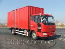 解放牌CA5160XXYP62K1L4E5型厢式运输车