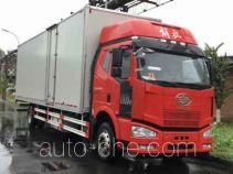 解放牌CA5160XXYP63K1L9E5型厢式运输车
