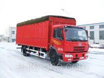 FAW Jiefang CA5160XXYP7K2L3AE soft top box van truck