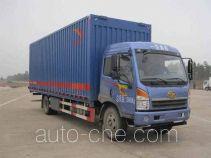 FAW Jiefang CA5161XYKPK2L5E4A80 wing van truck