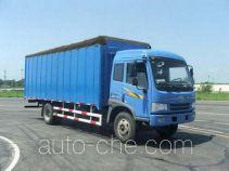 FAW Jiefang CA5163CPYP9K2L6A1E soft top box van truck