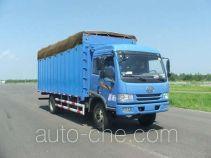 FAW Jiefang CA5163XXYP9K2L4A1E soft top box van truck