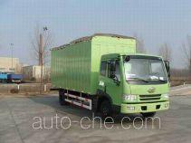 FAW Jiefang CA5163XXYP9K2L4BE soft top box van truck