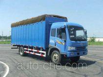 FAW Jiefang CA5163XXYP9K2L6A2E soft top box van truck