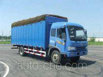FAW Jiefang CA5163XXYP9K2L6AE soft top box van truck