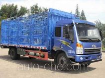 解放牌CA5167CCQPK2L2NA80型畜禽运输车