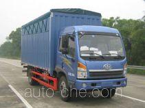 FAW Jiefang CA5167CPYPK2L2E4A80-2 soft top box van truck