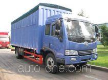 FAW Jiefang CA5163XXYPK2EA80-2 soft top box van truck