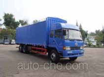 FAW Jiefang CA5200XXYP1K2L7T1A80-2 soft top box van truck