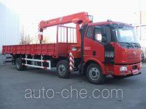 FAW Jiefang CA5220JSQP62K1L7T3E4 truck mounted loader crane