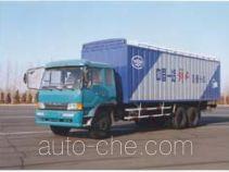 FAW Jiefang CA5225XP1K2L9T1A soft top box van truck
