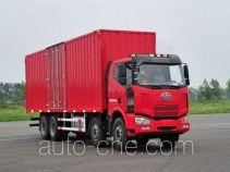 FAW Jiefang CA5240XXYP63K1L6T4A1HE diesel cabover box van truck