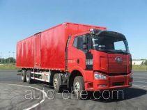 FAW Jiefang CA5240XXYP66K2L7T4A1E diesel cabover box van truck