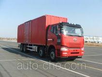 解放牌CA5240XXYP66K2L7T4E4型厢式运输车