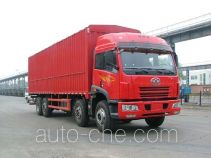 FAW Jiefang CA5241XXYP7K2L11T9A soft top box van truck
