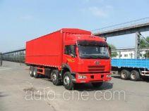 FAW Jiefang CA5242XXYP21K2LT4A soft top box van truck
