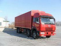 FAW Jiefang CA5242XXYP21K2LT4B soft top box van truck