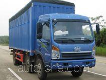 FAW Jiefang CA5220CPYPK2L6T3E4A80-2 soft top box van truck