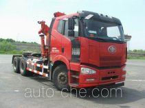 FAW Jiefang CA5250JQQP66K2L1T1E4 tractor unit mounted loader crane