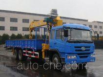 Huakai CA5250JSQK28E3 truck mounted loader crane
