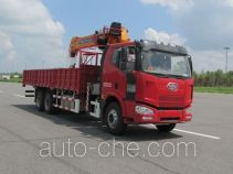 解放牌CA5250JSQP63K1L5T1E4型随车起重运输车